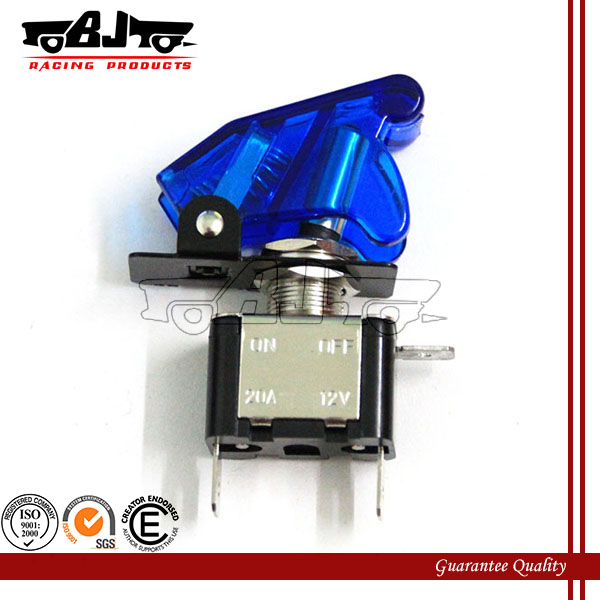 BJ-SW-003 12V Blue LED light motorcycle electronic cruise control switch