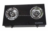 Tempered Glass two Burners table gas Cooker/GAS STOVE