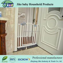 Easy-Close White Baby Safety Metal Expansion Gate