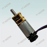 12mm small dc gear rotating display motor