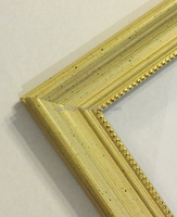 bamboo color mirror frame moulding