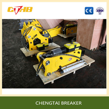 Side type /top type small model hydraulic breaker