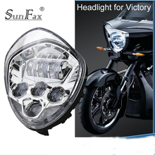 Victory cross-country Motorcycle led driving light motorcycle lights led headlight for Polaris Victory
