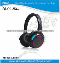 2014 Hot selling bluetooth headset, Hi-fi wireless headphones, LED earpiece