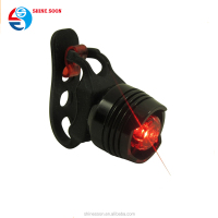 Cycle accessory light set Small Waterproof MTB Bike Bicycle 1super bright red LED Rear Tail Light