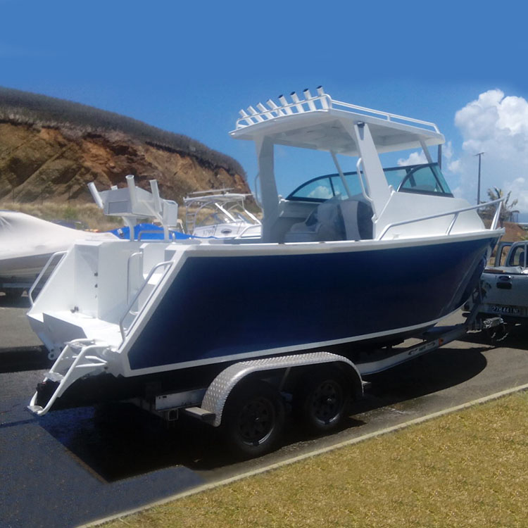 21FT Aluminum offshore fishing vessel For Sale