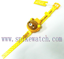 Promotion gift toy slap plastic ap watch