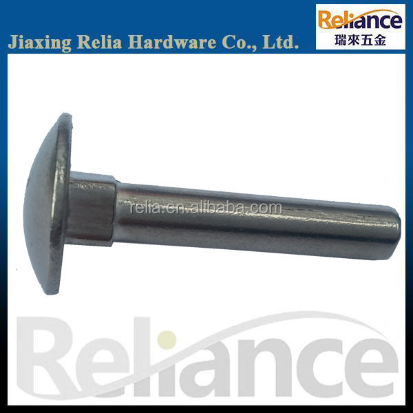 Round Head Square Neck Carriage Bolts Without Thread