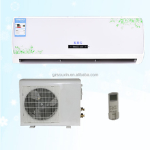 Remote control split air conditioner specifications with pure cooper pipe and condenser