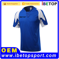 OEM Service custom design football jerseys soccer referee equipment 3d printing of men's tshirt