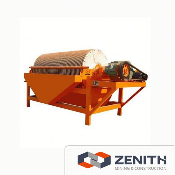 Reliable iron sand magnetic separator machine
