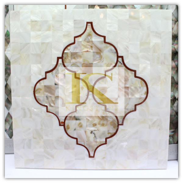 China manufacturer abalone shell paper mosaics (Good Price+CE)
