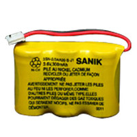 NiCd 2/3AA 300mAh 3.6V Rechargeable Battery