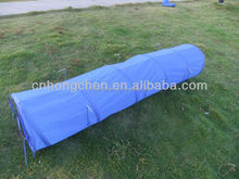 190T POLYSTER 2016 Blue Pop-up Pet Playing Tunnel Dog Tent Tunnel