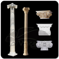 2016 Popular Design Decorative wall Columns with 15 Years Foundry