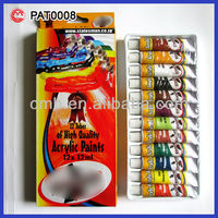 12ML HIGH QUALITY ACRYLIC PAINTS