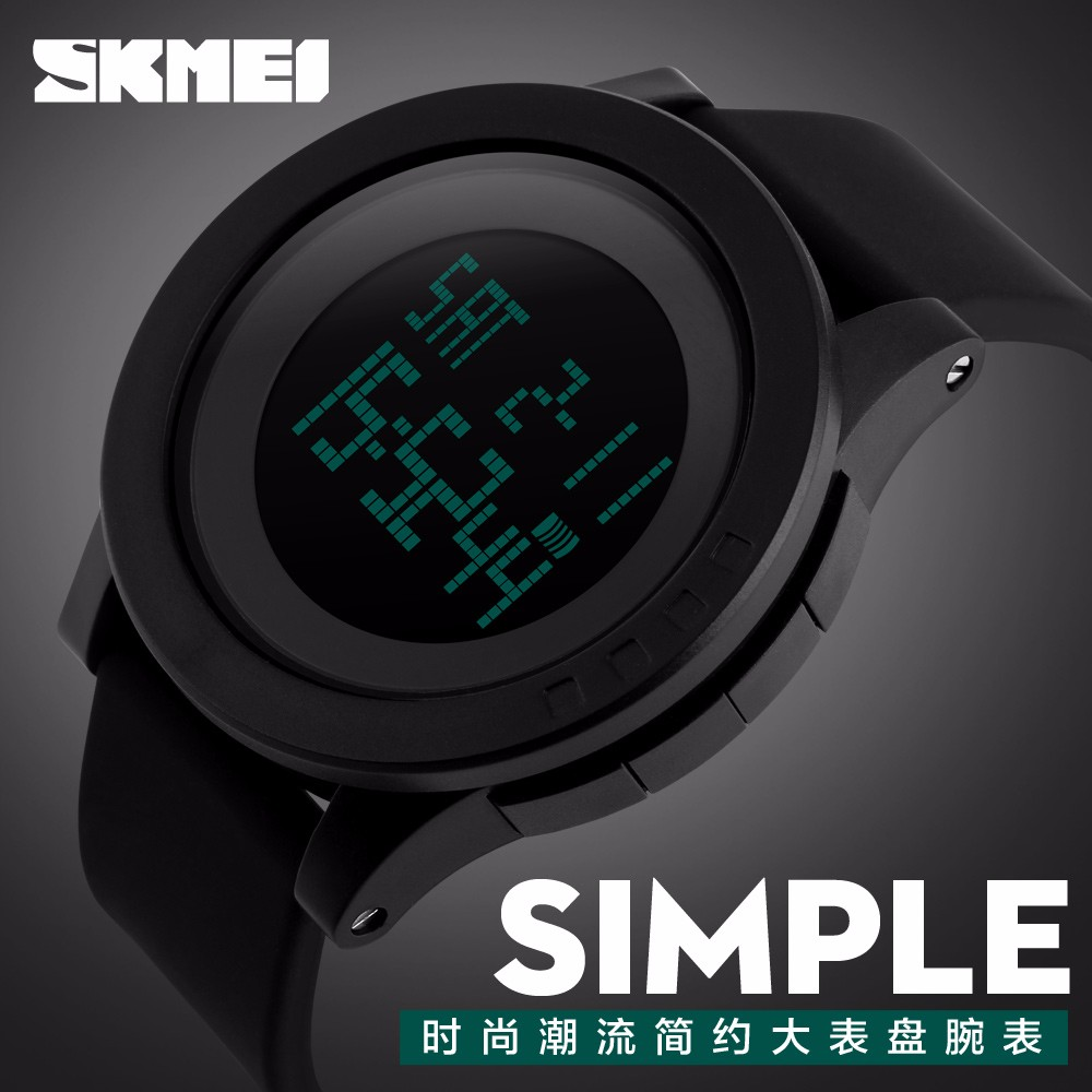 skmei 1142 silicone strap hot digital watches for kids waterproof