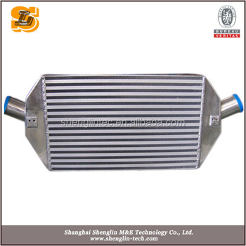 Aluminum cooling intercooler
