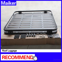 Roof luggage black car auto body parts roof rack basket for Jeep wrangler JK