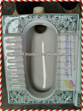 Light Color Patterned Squatting Pan Sanitaryware