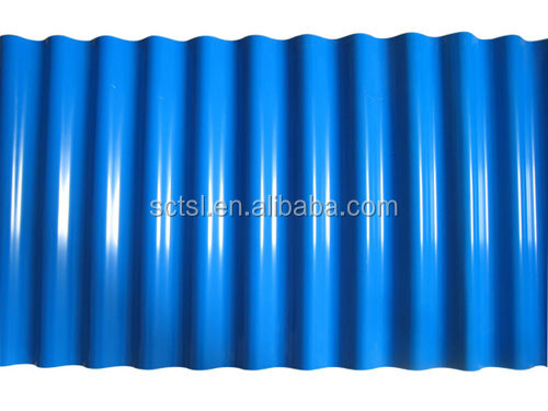 Light Weight High Quality Roofing Tiles PVC Plastic Roof Panel