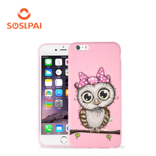 Cute case for iphone6s plus, Soft Silicone Back Cove TPU Phone Cases For iPhone6s plus
