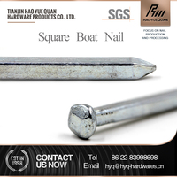 Steel stake copper square boat nails galvanized from china supplier