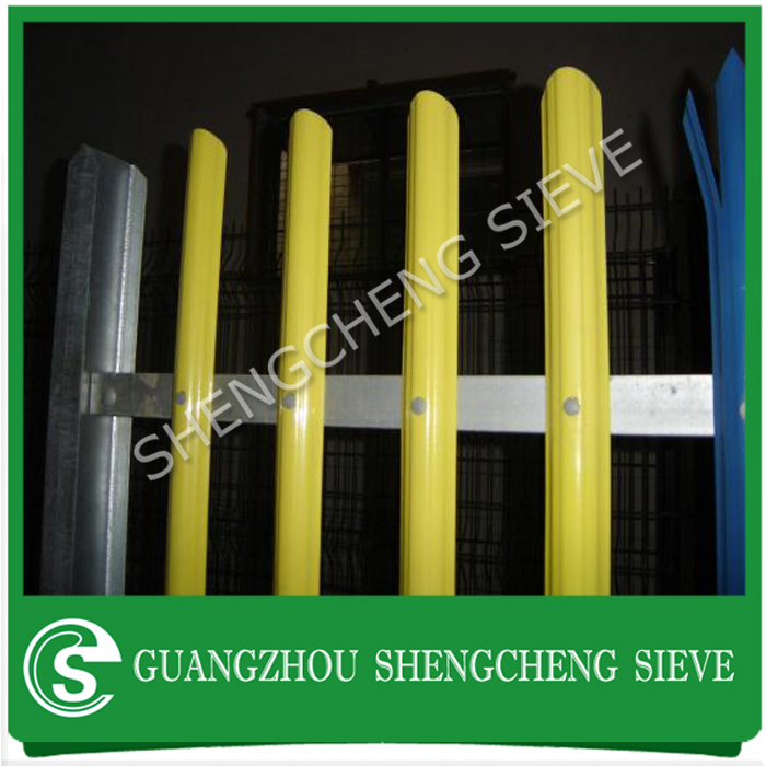 Alibaba China steel palisade fence system palisade panels palisade RSJ post