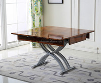 2016 USA lift top coffee dining table mechanism, up and down adjustable height coffee dining table