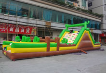 Cheap inflatable obstacle course, fun obstacle challenge inflatable toy
