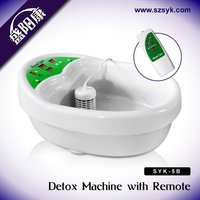 Best electric ion foot detox foot spa machine ((With CE & RoHS approval)
