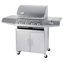 Stainless Steel Commercial 4 Burner Gas Bbq Grill