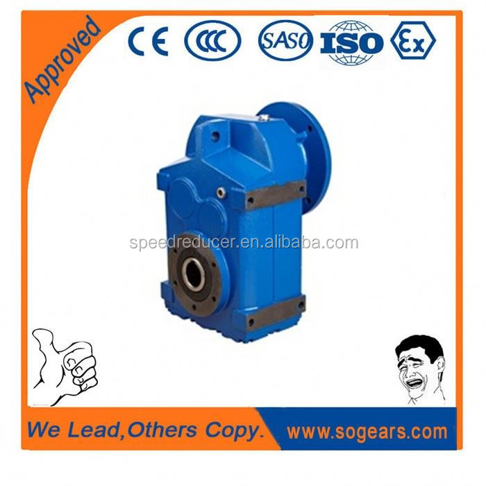 Dofine f series parallel shaft helical gear motor hopping machines