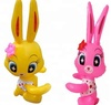 Children colorful personality inflatable plastic animal toys for kids