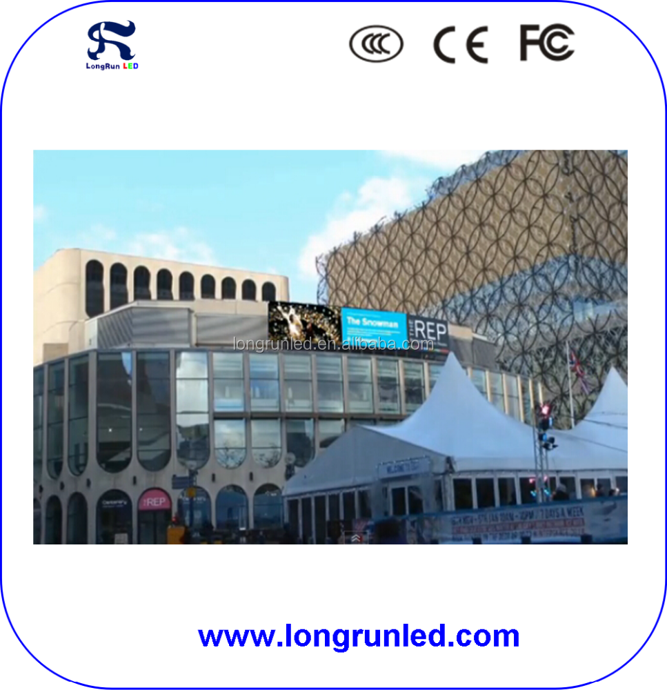 Outdoor LED screen display P10 Full Color Advertising LED Video billboards/panel