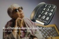 Handsfree big button telephone for old and for blind people