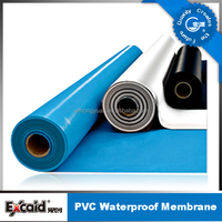pvc waterproof membrane/ waterproof membrane for bathroom floors/ pool liner