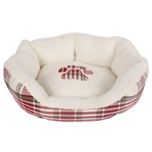china pink princess eco-friendly soft durable fabric cozy handmade dog pet bed