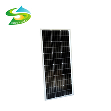 Cheap 260w - 280w monocrystalline anodized decorative aluminum frame top point solar panel