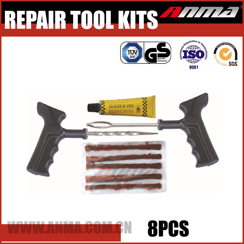 flat motorcycle tire repair kit