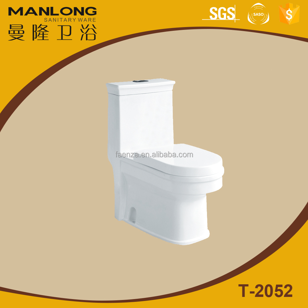Colored washdown one-piece toilet New model