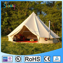 Family Camping Outdoor Cotton Bell Tenst Waterproof Bell Tent