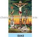High Definition 3D Lenticular religious Picture Printing