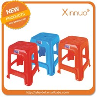 High Quality Plastic Chair Square plastic Stool Small Size Chinese Style