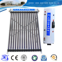 Flexible to install wall mounted home use split pressure solar water heater price Italy