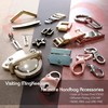 Novelty Accessories & Metal Parts Clutch Bag for Men