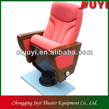 China manufacturer folding good quality fabric Theatr cadeira/theater chairs cinema arm chairs furniture for sale JY-999D