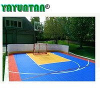 Multi-use New Interlocking Plastic Basketball Court Cover With Low Price