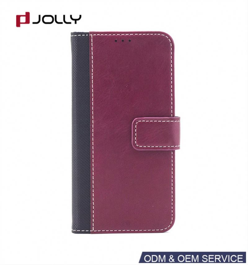 Flip wallet fancy cell phone case for iphone5 6 7 8 X
