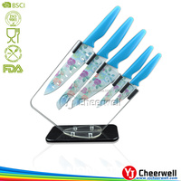 5pcs chef knife sets decal knife solingen